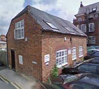 Evesham Volunteer Centre premises in Brick Kiln Street