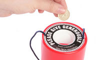 Charity collecting tin for your donation