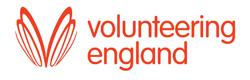 Volunteering England Logo. Evesham Volunteer Centre is an accredited volunteer centre