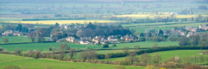 Vale of Evesham landscape highlighting opportunities to volunteer